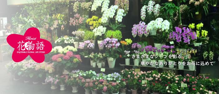 さまざまなシーンを彩る華やかなありがとうをお花に込めて